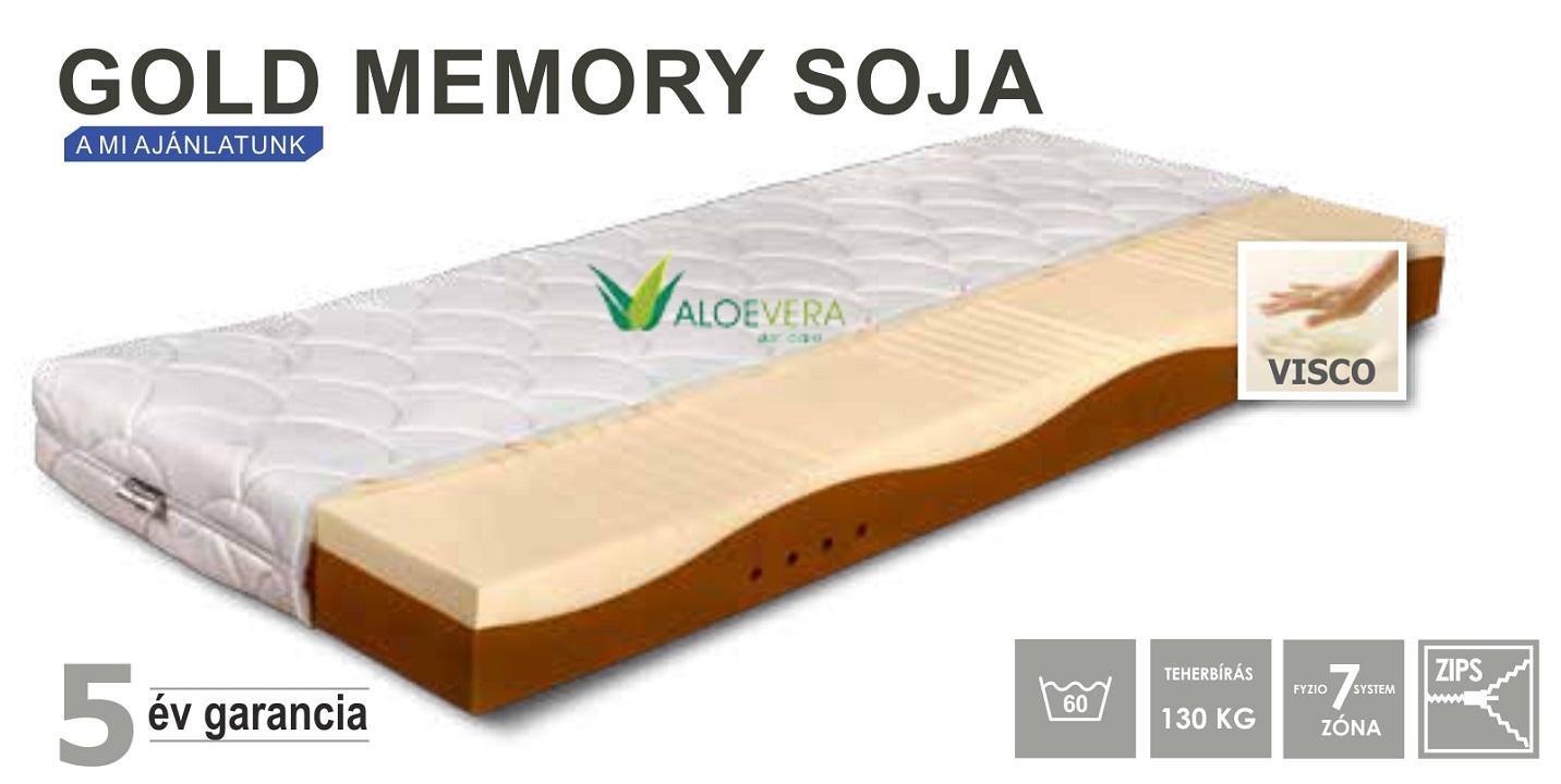 Gold Memory Soja szendvics matrac 90x200 cm