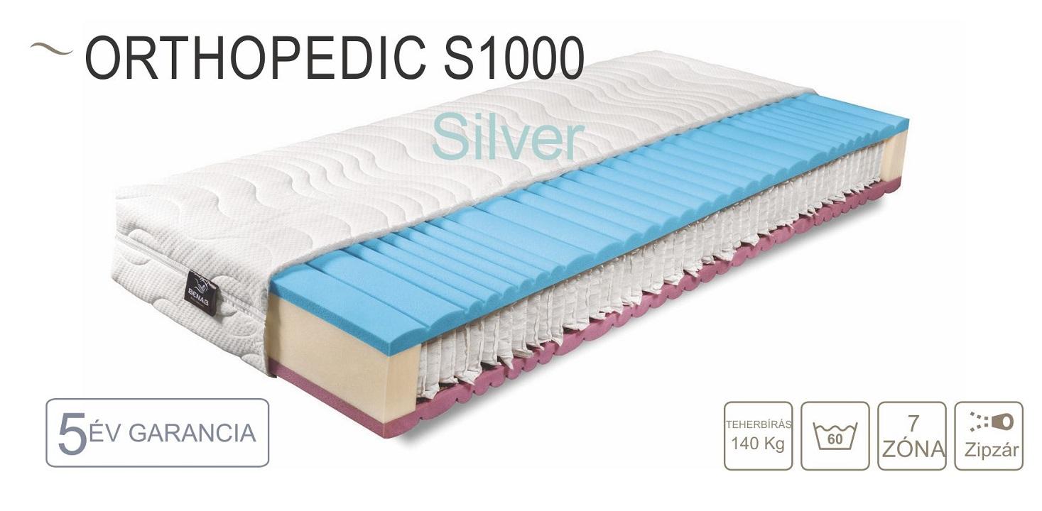 Orthopedic S 1000i matrac 160x200 cm
