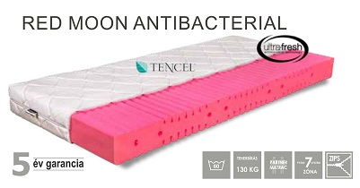 Red Moon Antibacterial szendvics matrac 90x200 cm